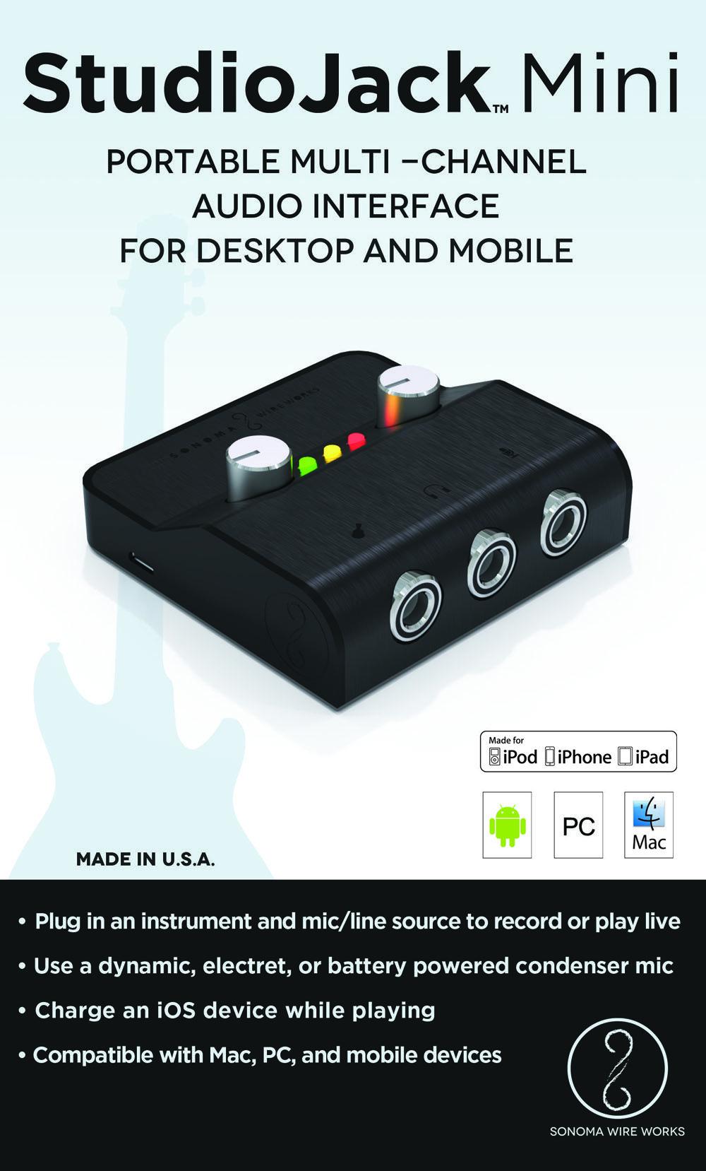 StudioJack Mini Box Front Mini, Ipad 4th generation