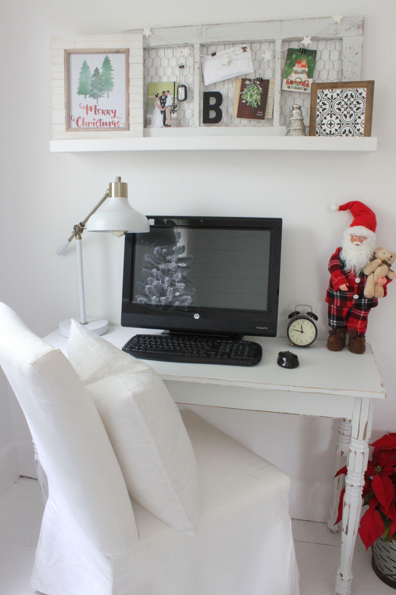 DIY old window chicken wire memo board above desk | DIY Craftiness ...