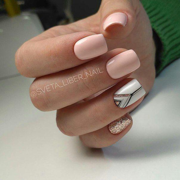 Маникюр | Ногти | Uñas | Pinterest | Diseños de uñas, Manicuras y ...