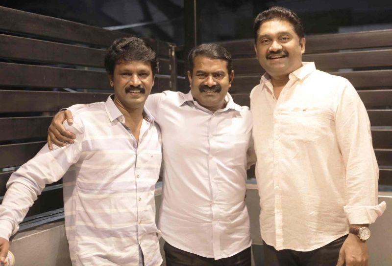 Director Seeman,Cheran Speech At Adutha Saattai Special Screening