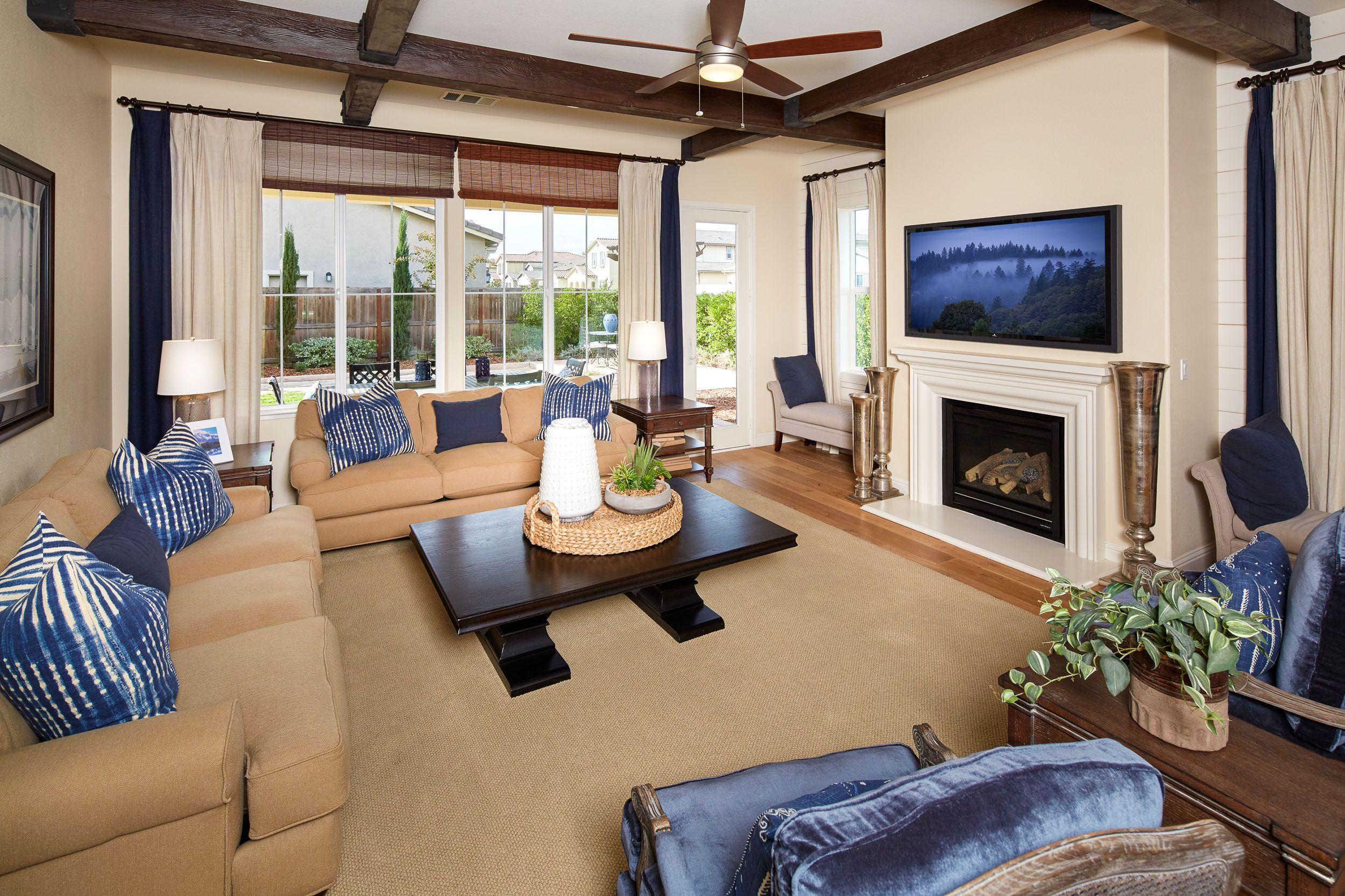 Add A Splash Of Color To Your Livingroom Fireplace Sacrealestate Homesforsale Interior Design New Homes Home
