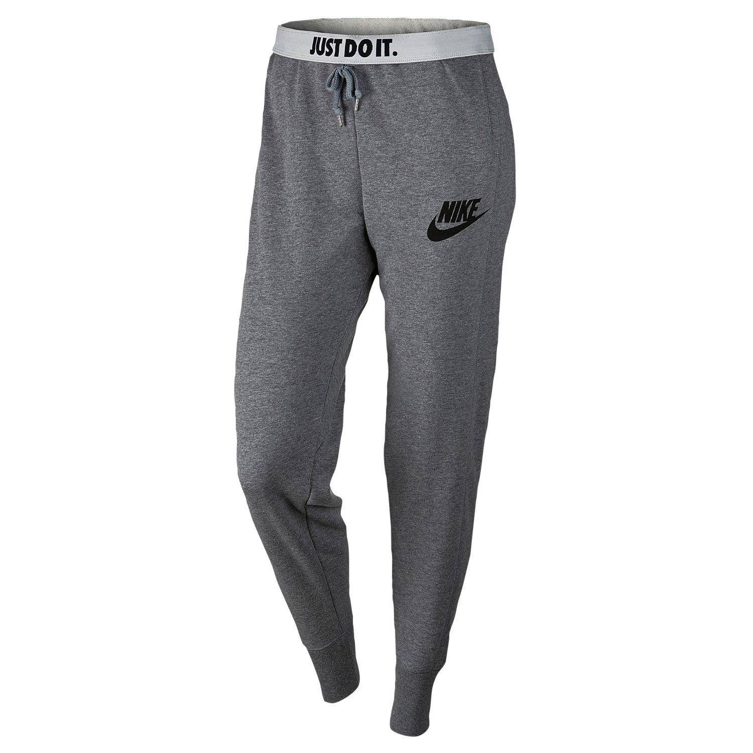 5da10942a067 Nike Rally Jogger Pants - Women s - Casual - Clothing - Carbon Heather Cool  Grey Black