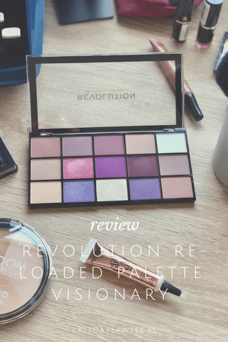 Revolution ReLoaded Palette Visionary Review and Swatches