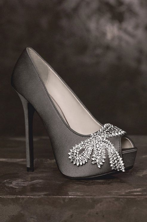 Wedding Shoes: White by Vera Wang, Spring 2013 | Beautiful, Colin ...