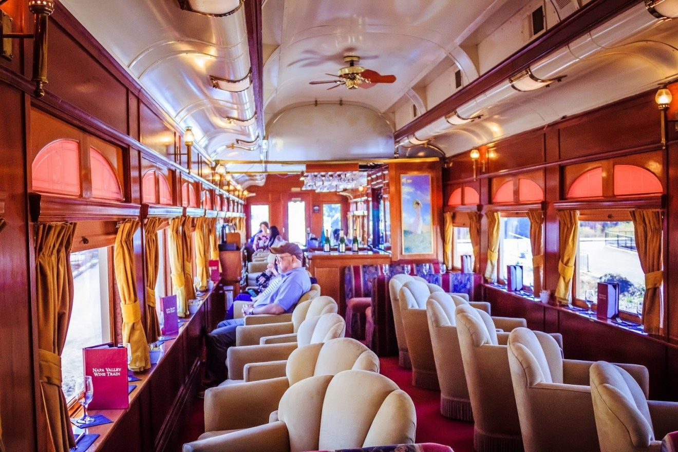 A Ride On The Napa Valley Wine Train With Images Napa Valley Wine Train Napa Valley Wine Wine Train