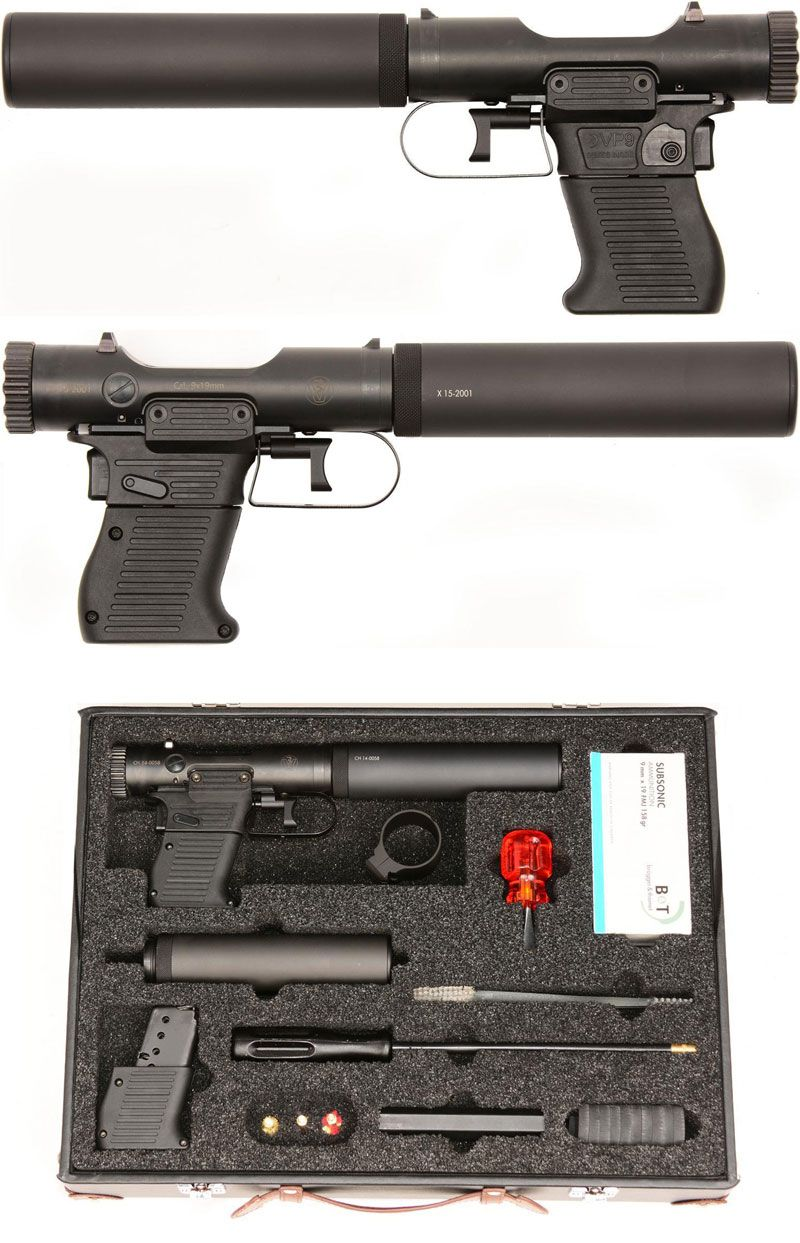 B&T veterinary pistol VP9 suppressed, cal. 9 x 19 mm The VP9 is, as ...