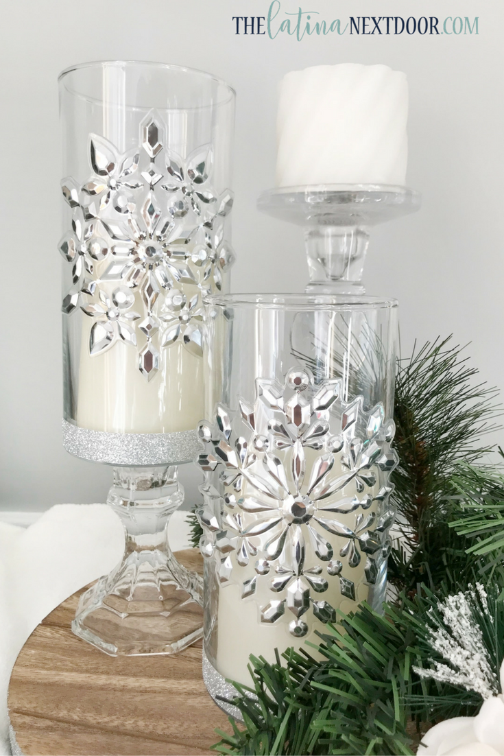 Budget-Friendly Elegant Silver Candle Holders | Christmas Home Decor ...