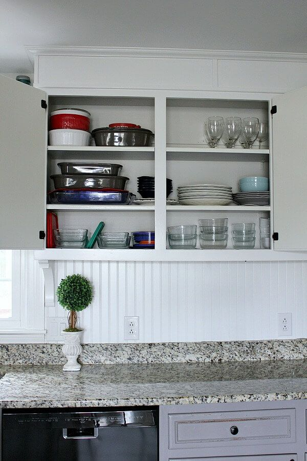 how i ve simplified my life by organizing my kitchen into zones wood kitchen cabinets kitchen on organizing kitchen cabinets zones id=72421