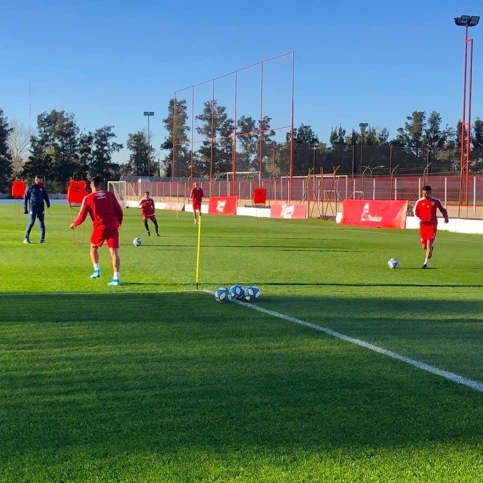 Argentinos Juniors volvió a los entrenamientos TyC