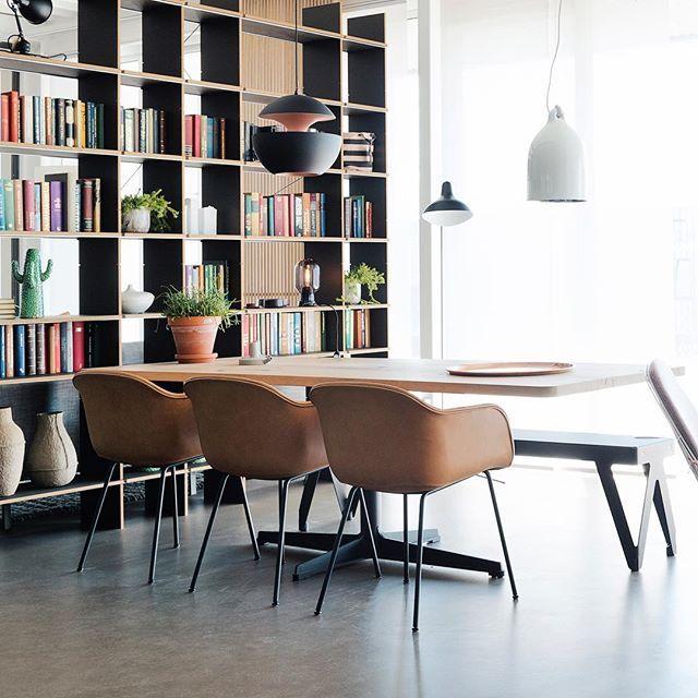 Een stoere eetkamer inspiratie: onze #houtmerk Still designtafel met ...