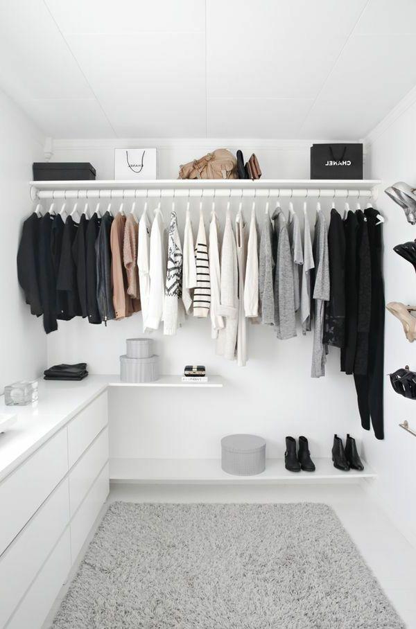 der perfekte kleiderschrank schlafzimmer, begehbarer kleiderschrank - wie sie die perfekte ordnung schaffen, Design ideen