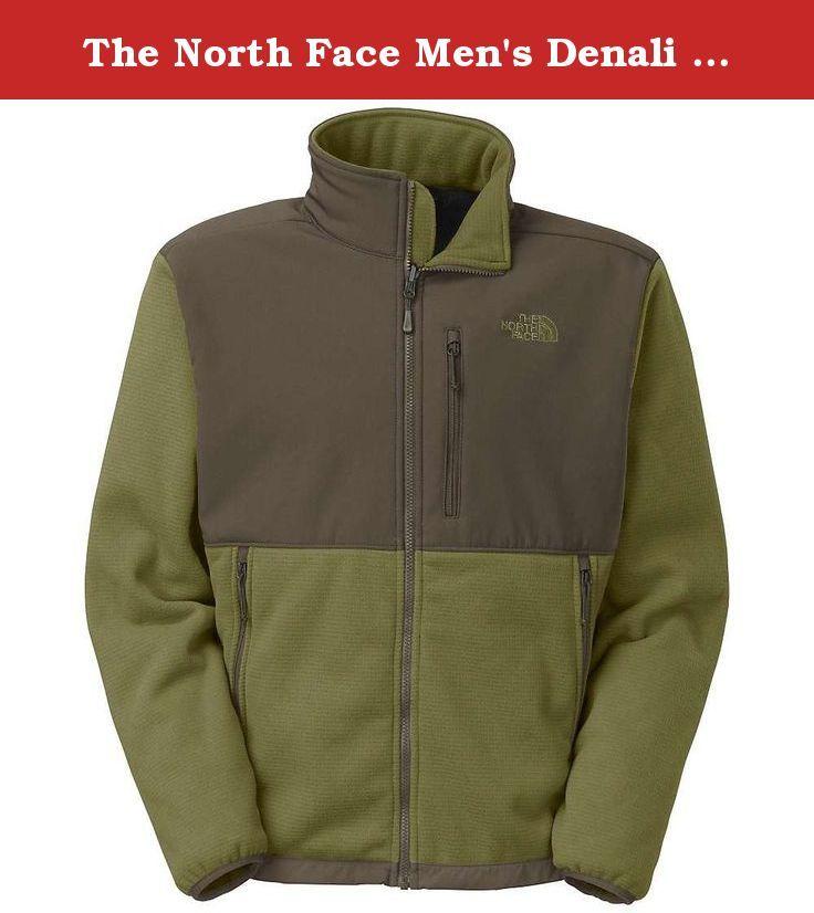 9912d0ae2801 The North Face Men s Denali Windpro Burnt Olive Green   Black Ink Green  X-Large. North Face Mens Denali Windpro.