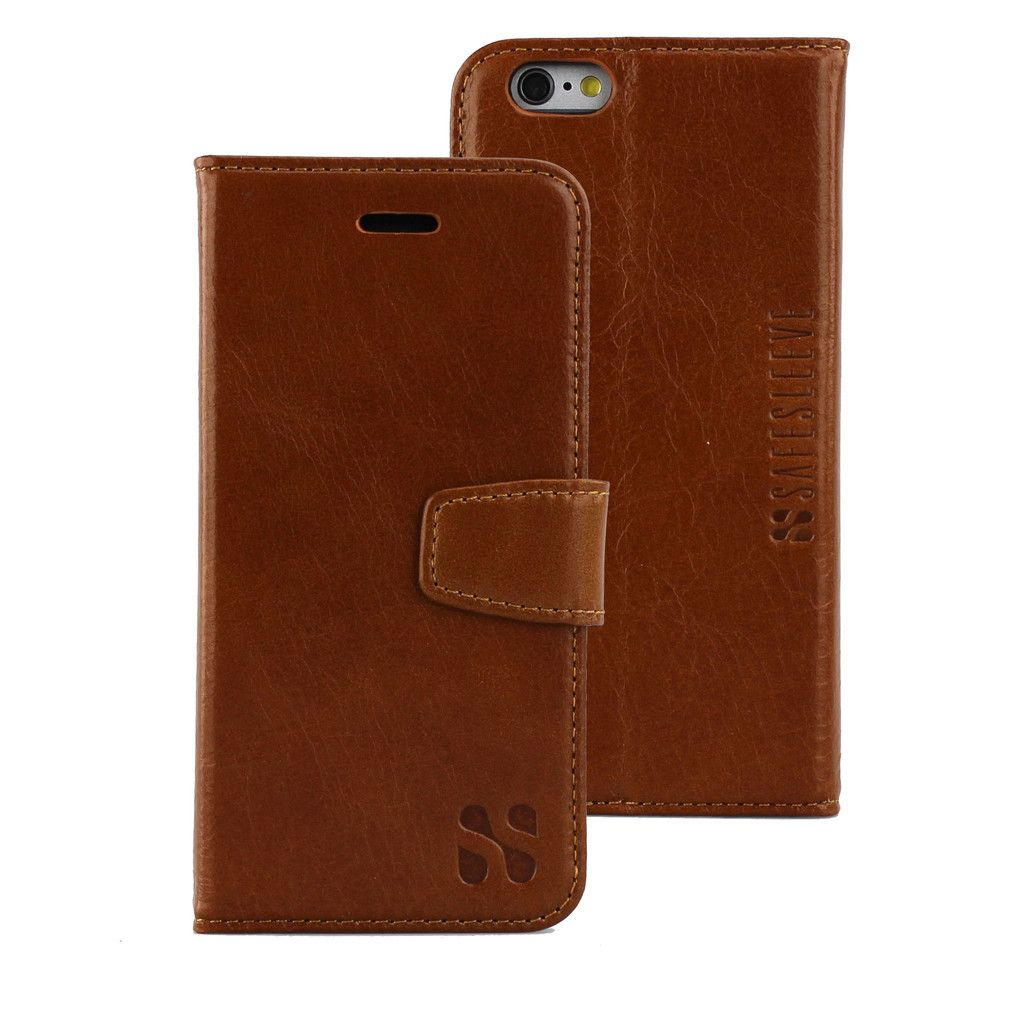 The world's first Anti-Radiation and RFID blocking wallet case for the iPhone 6/6s provides safety, convenience and style. Order today and receive FREE shipping!