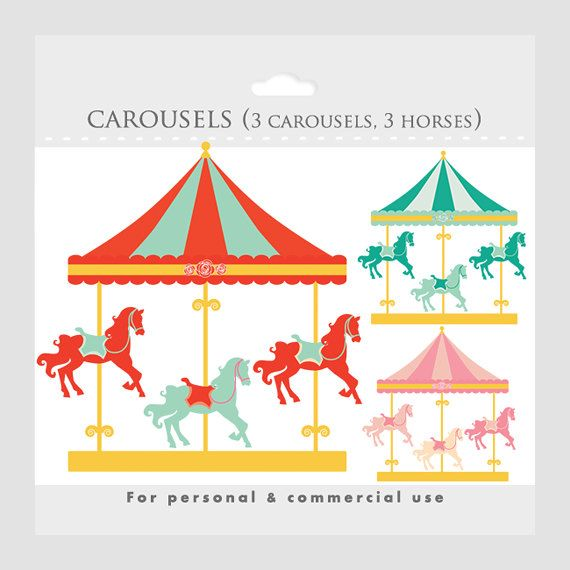 Clip Art Carousel Clipart 1000 images about carousels illustrations on pinterest nicoletta ceccoli clip art and carousels