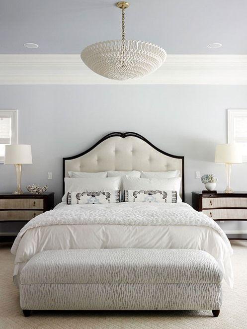 Eingängige Schwarz Und Weiß Kopfteil Schlafzimmer