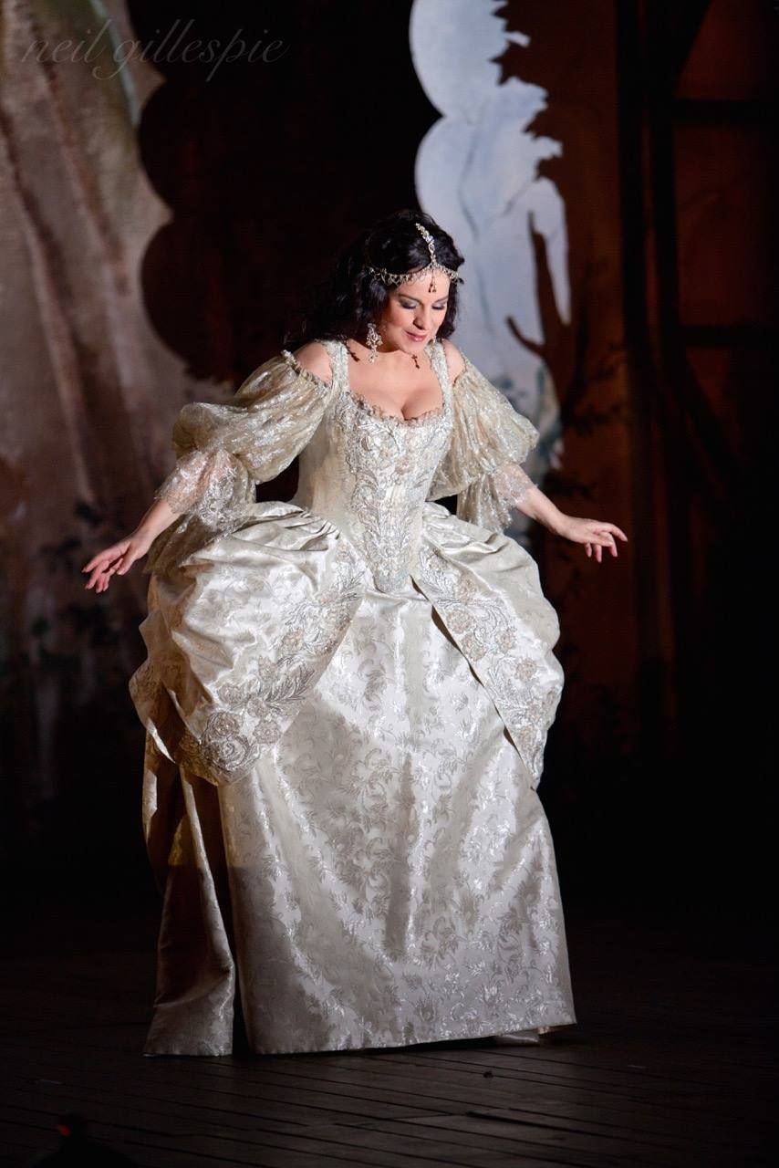 Angela Gheorghiu As Adriana Lecouvreur From Francesco Cileas Opera Of The Same Name