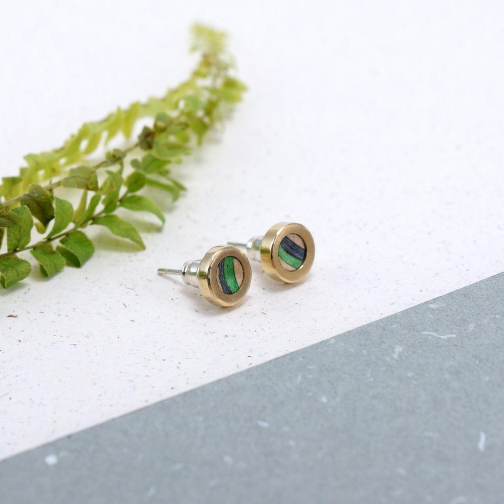 Sterling Silver Ear Cuff Moon Dots Ear Sweep Pin Earrings Boho Jewelry FES004SSO