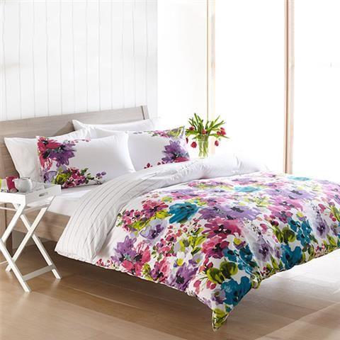 Homemaker Lily Print Quilt Cover Set King Kmart
