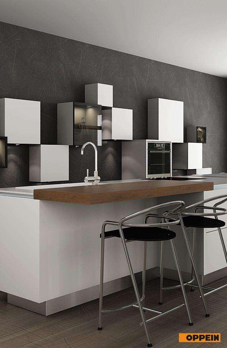 Modern White Wooden Kitchen Cabinet With Lacquer Finish Wooden Kitchen Cabinets Kitchen Design Wooden Kitchen