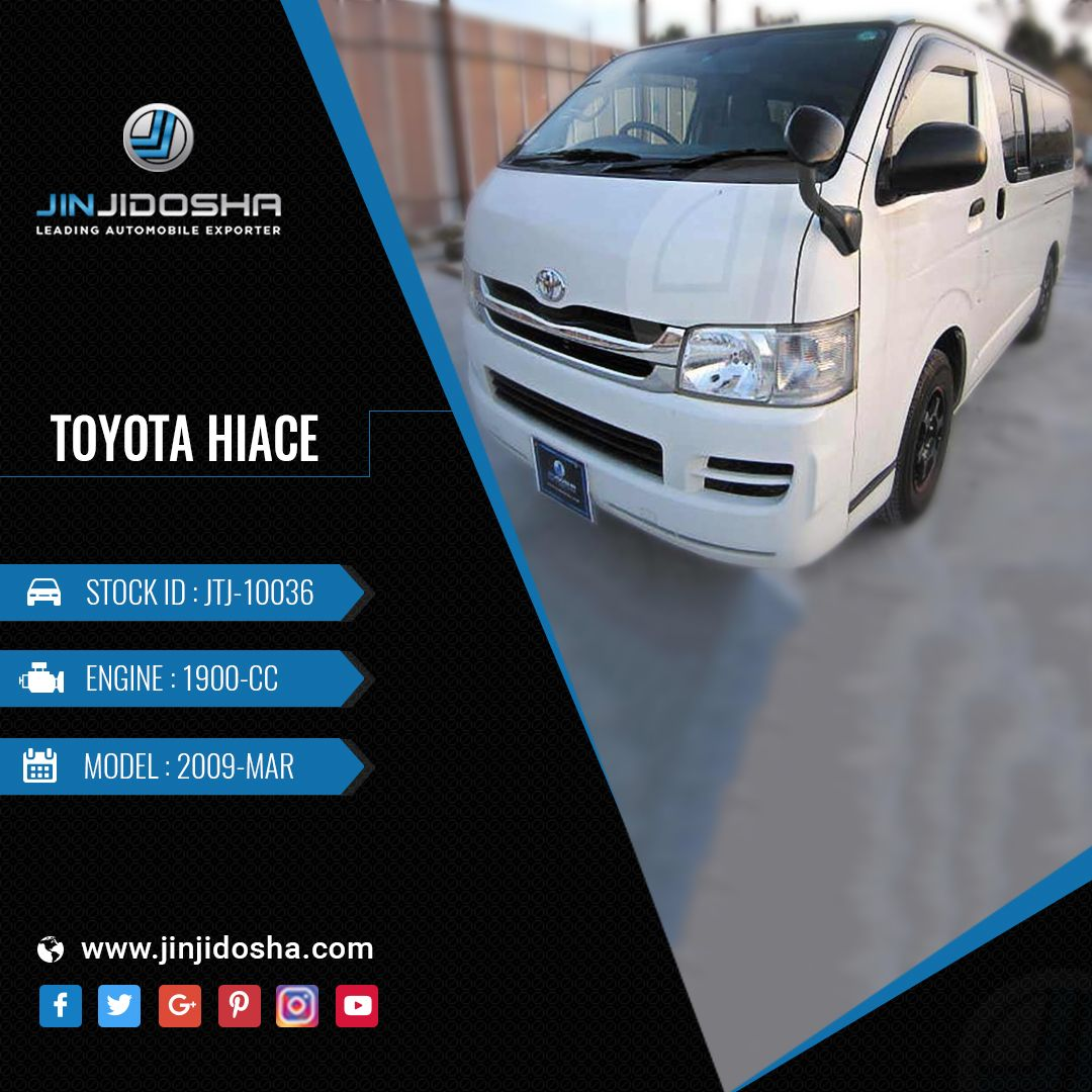 Your Toyota Hiace 2009 In Stock Now! Car Details https