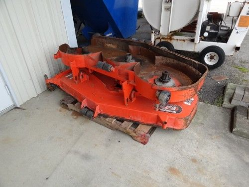 2 Mower Decks Kubota 72 Stripped For Parts Listing 15685 Ends 6 3 2013 5 38 00 Pm Eastern Farm Equipment Auction Items Mower