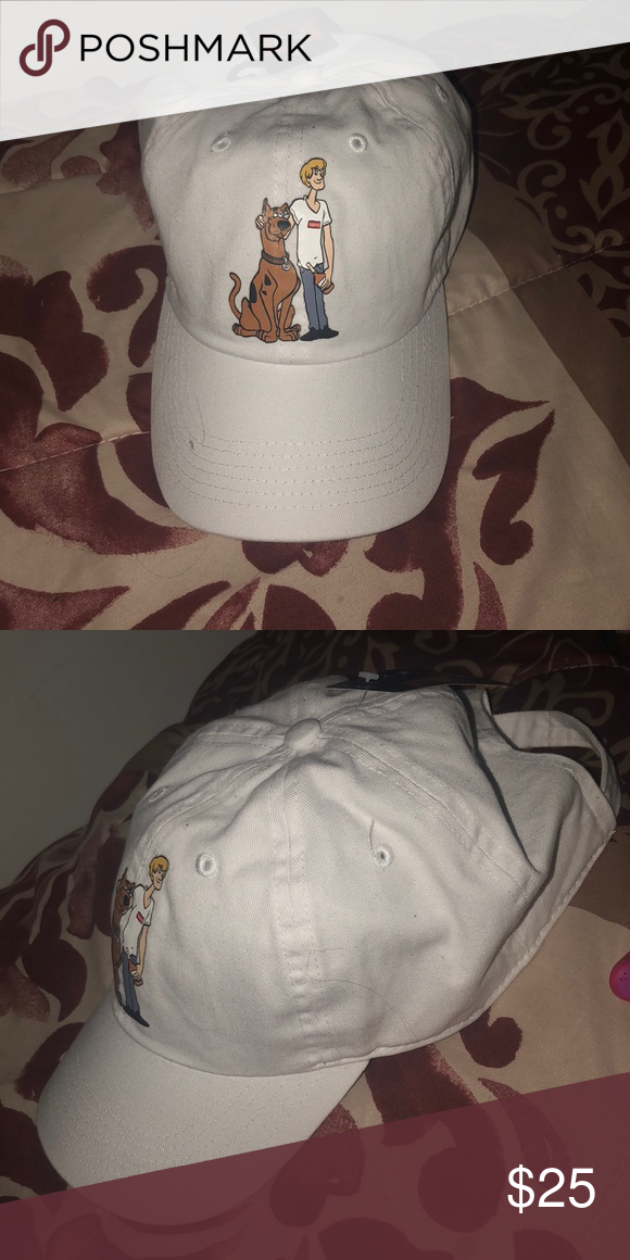 "️White graphic ""scooby doo"" dad Hat Accessories Hats. "" f2847f32df9"
