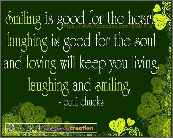 Smiling Laughing Loving