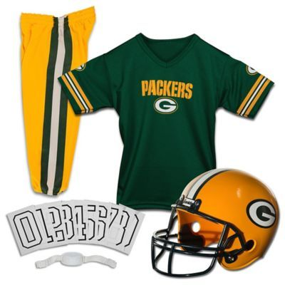 1cc9205f697 NFL Green Bay Packers Youth Medium Deluxe Uniform Set Multi ...