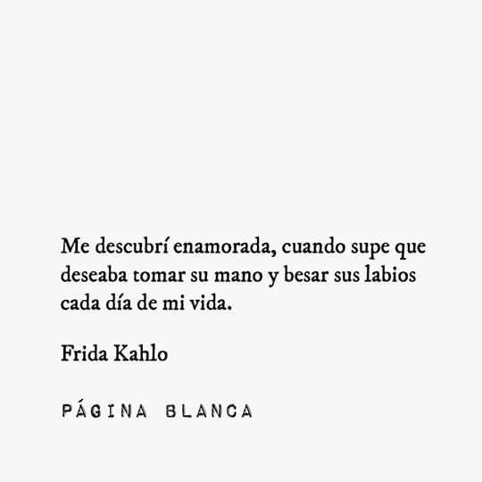 Frida Kahlo Frases De Amor Inspiradoras Frases De Amor