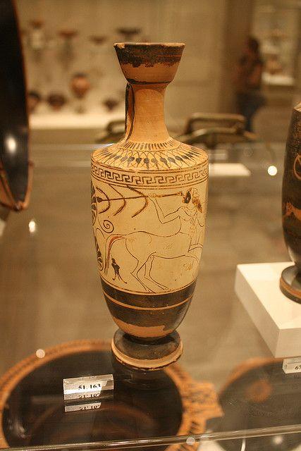 An Attic White Ground Lekythos Attributed To The Workshop Of The Diosphos Painter Vasija