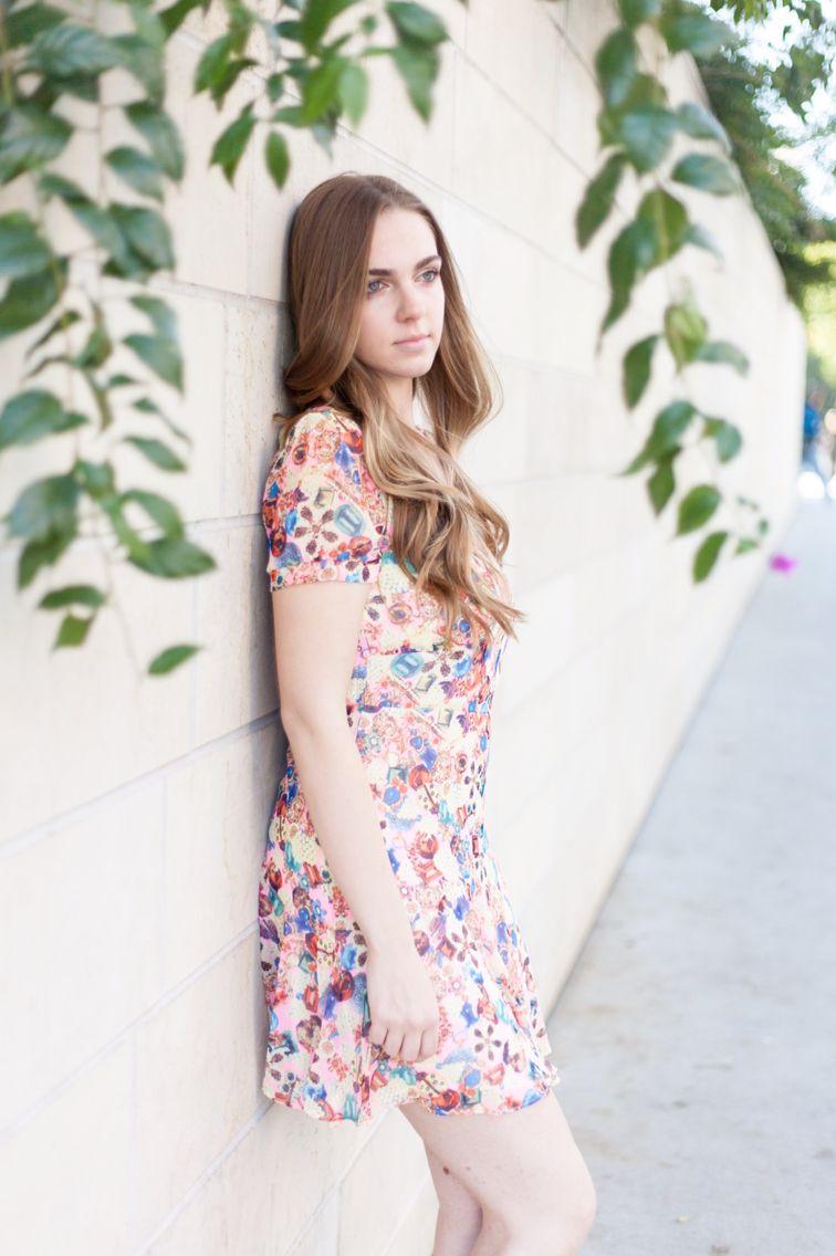 14d02b8ee7a chiffon floral dress