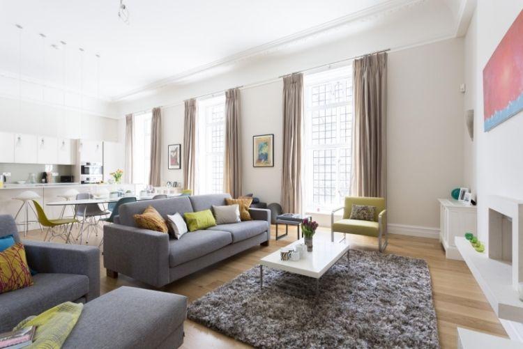 Deko fürs Wohnzimmer im skandinavischen Stil \u2013 Tipps und Bilder in - wohnzimmer neu gestalten