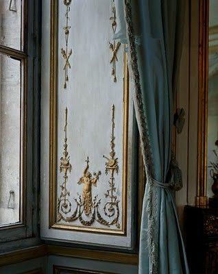 Pin de Carla en Cinderella Pinterest - cortinas azules