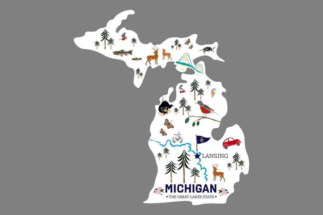 Great Lakes Proud Oval Sticker Decal