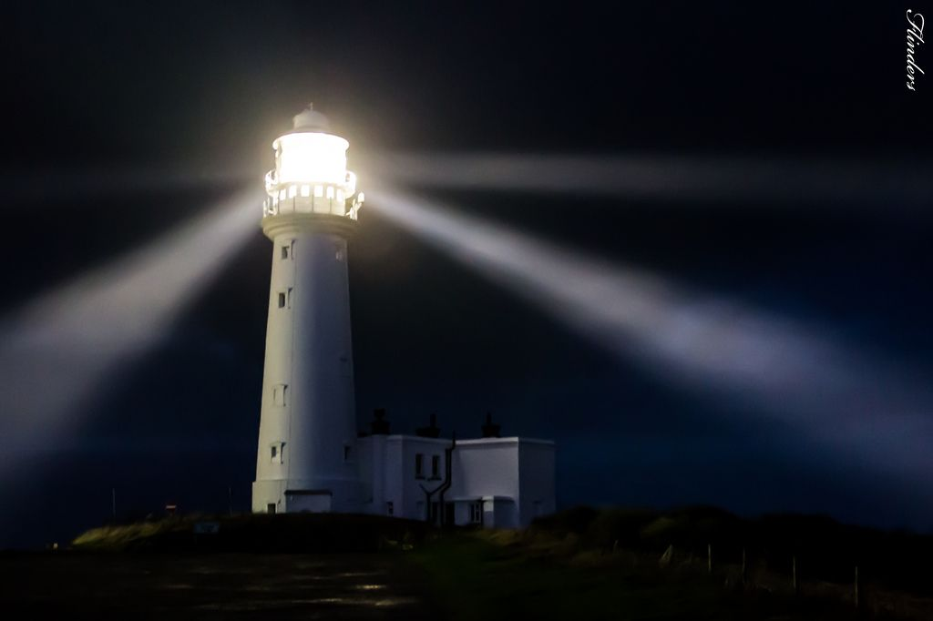 Lighthouses At Night And Moon Google Search