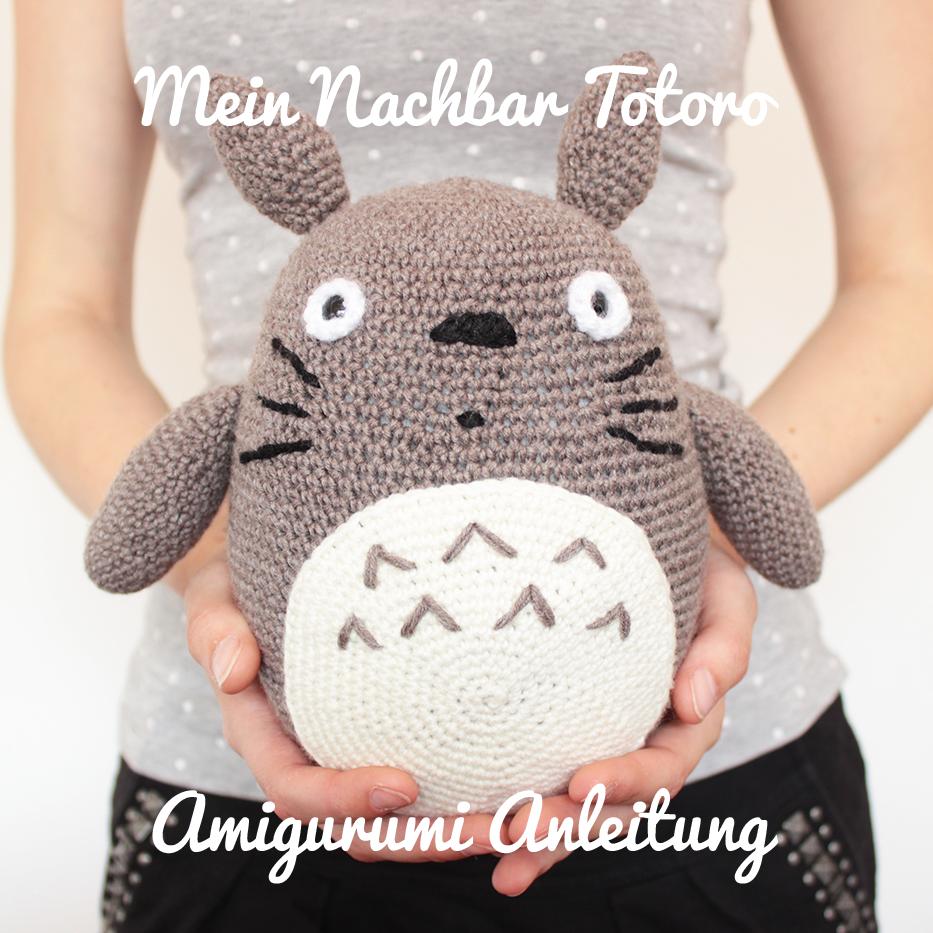 DIY Mein Nachbar Totoro Amigurumi Häkelanleitung   Totoro, Amigurumi ...