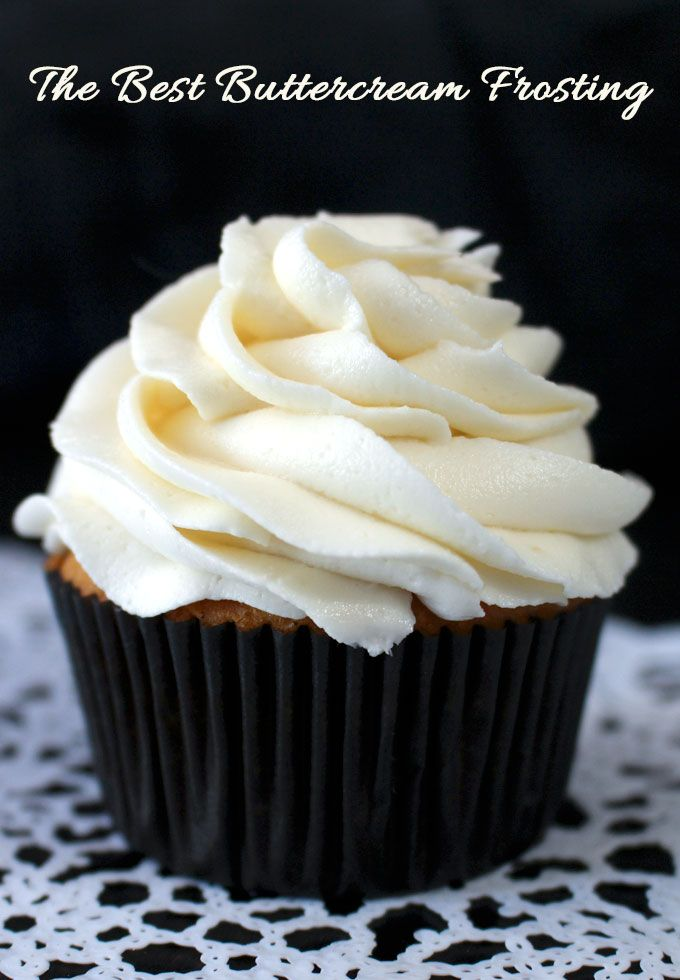 How To Make Buttercream Without Icing Sugar Uk The Best Buttercream Frosting Recipe Frosting Recipes Desserts Buttercream Frosting Recipe