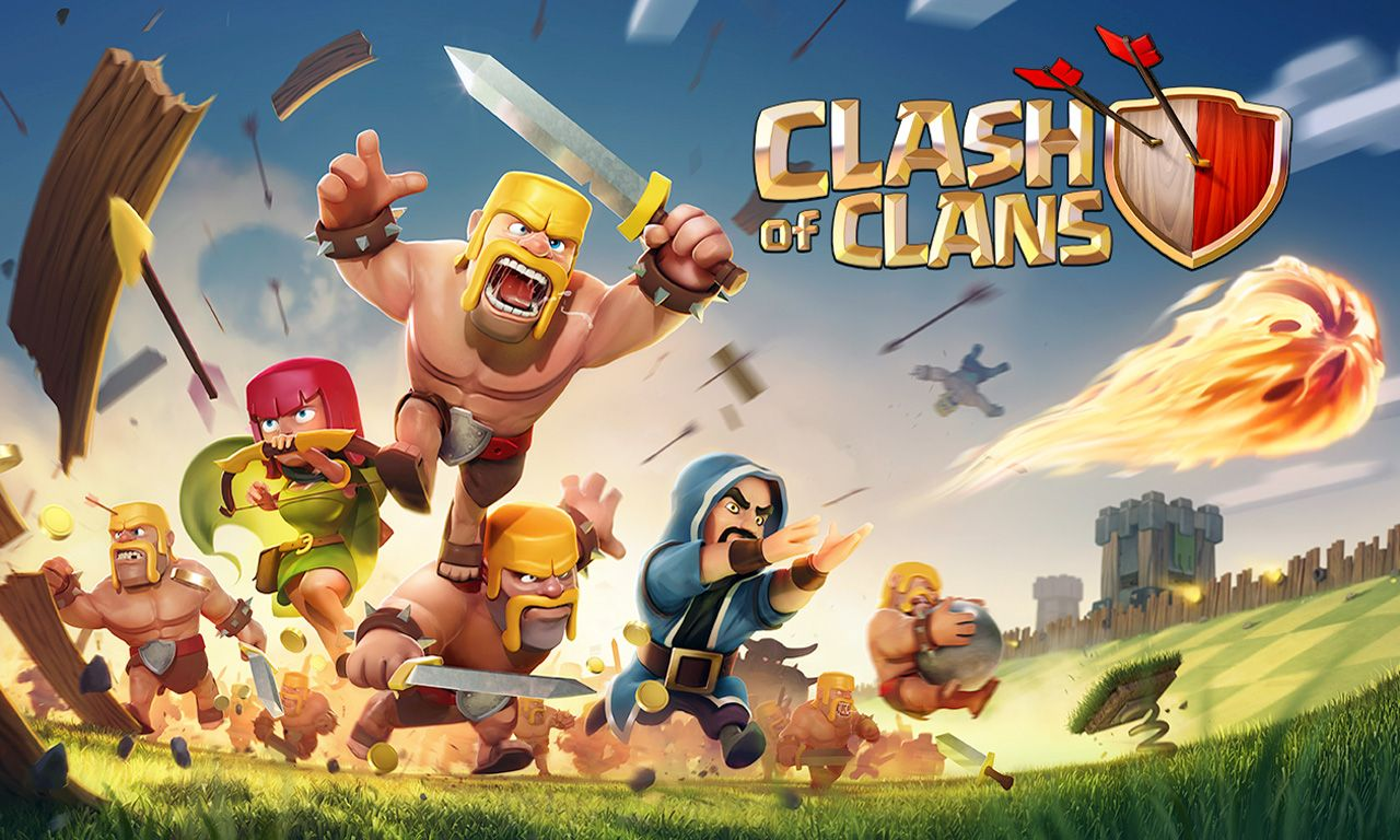 Clash Of Clans Wallpaper Hd Clash Of Clans Hack Clash Of