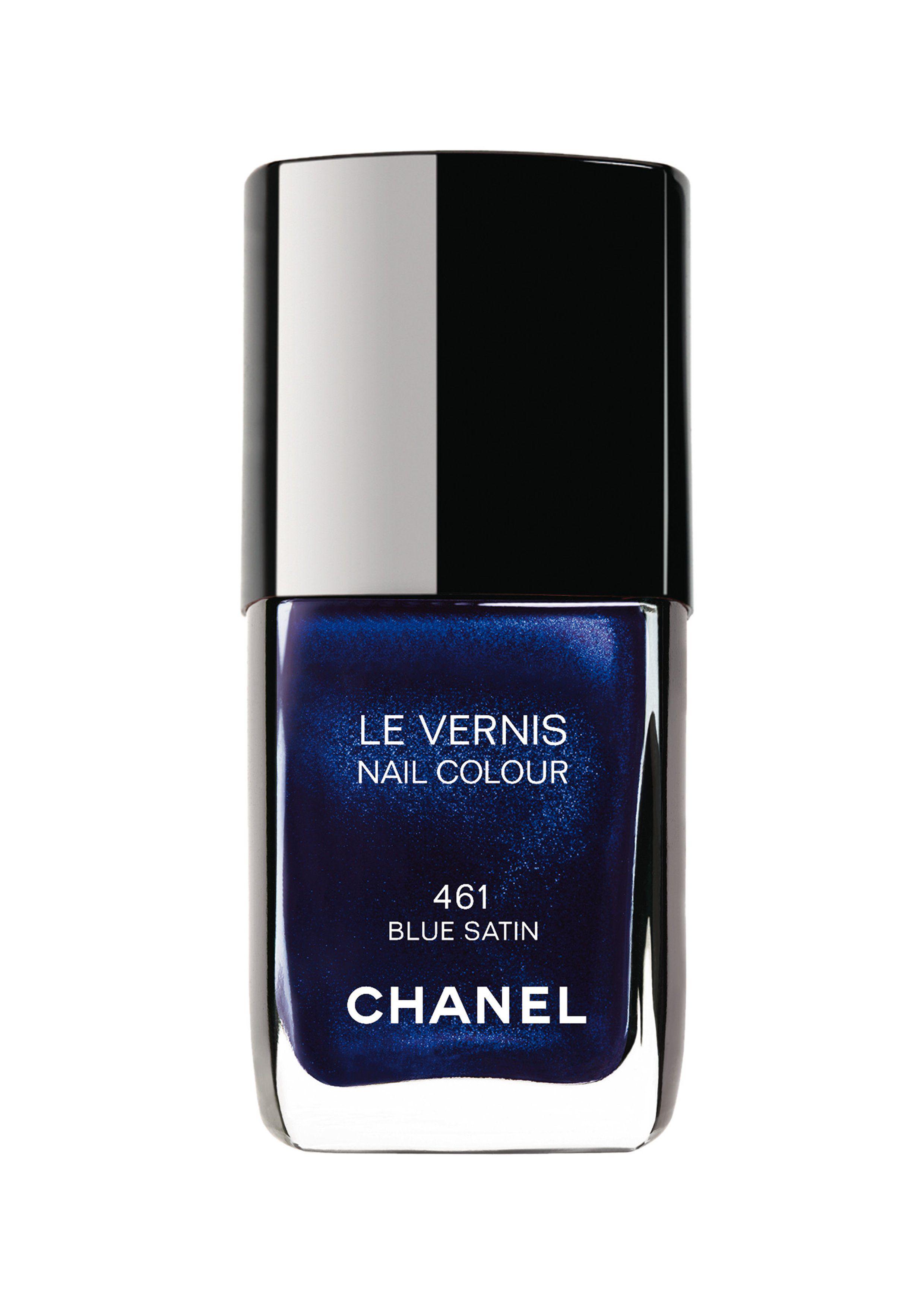 02 Chanel Le Vernis 461 Blue Satin   blue   Pinterest   Blue satin