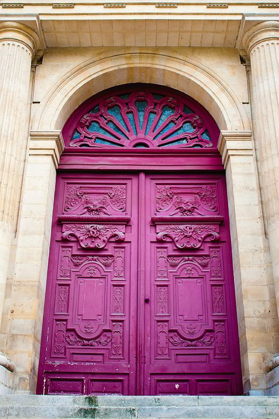 Door Art - French architecture - Fine art travel photography - Vintage beauty - Wall art, Home Decor