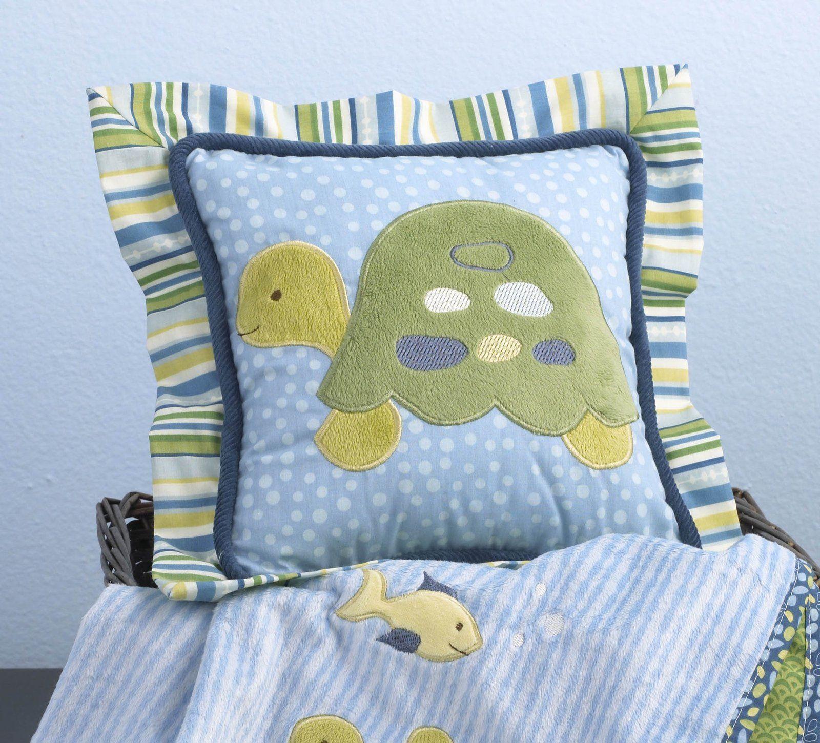 Diaperscomnursery Cocalo Turtle Reef One Pack Pillow