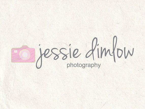 Premade Photography logo design photography logo Watermark camera logo. Instant download digital download psd file