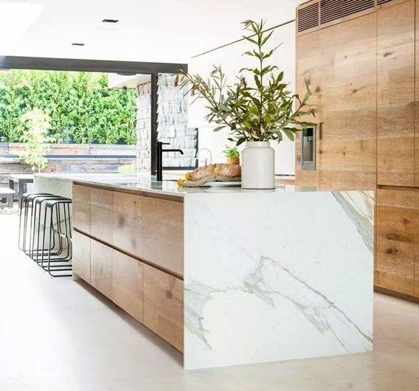 M rmol en la cocina una apuesta segura simple style - Cocinas de marmol ...