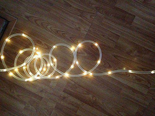 Amazon lte 50 led solar rope lights 23ft warm white amazon lte 50 led solar rope lights 23ft warm white aloadofball Choice Image