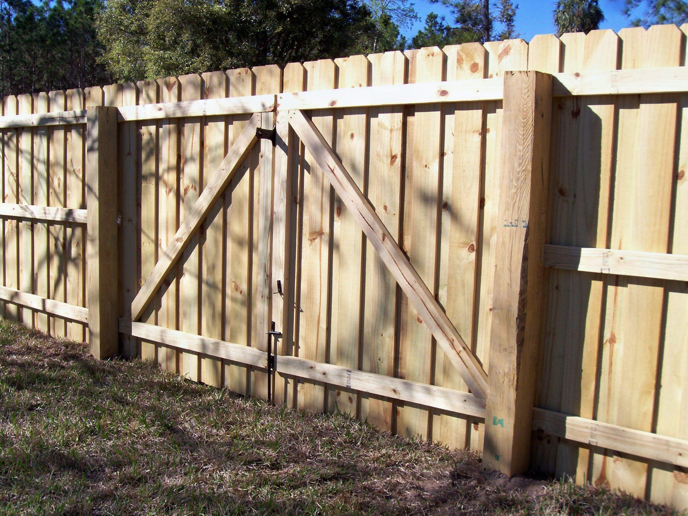 Mossy Oak Fence Wood Fence Design Fence Gate Design Wood