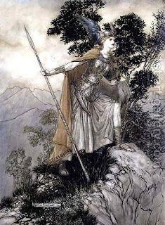 Cantar De Los Nibelungos Nibelungos Arthur Rackham Mitología Céltica