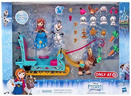 Ring box Frozen Elsa Anna with Candy Birthday Confetti mini