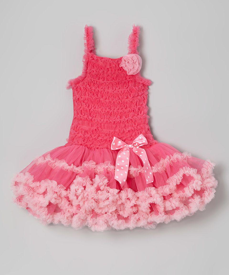 Sparkle Adventure Hot Pink Ruffle Tutu Dress - Infant, Toddler & Girls by Sparkle Adventure #zulily #zulilyfinds