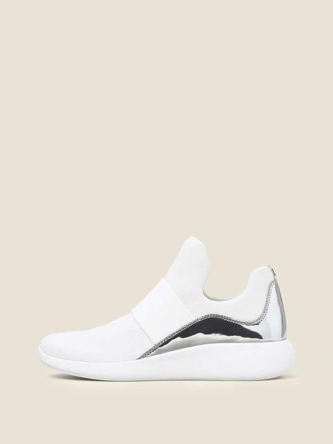 0f696451f6e Donna Karan Donnakaran Cory Metallic Slip On Sneaker