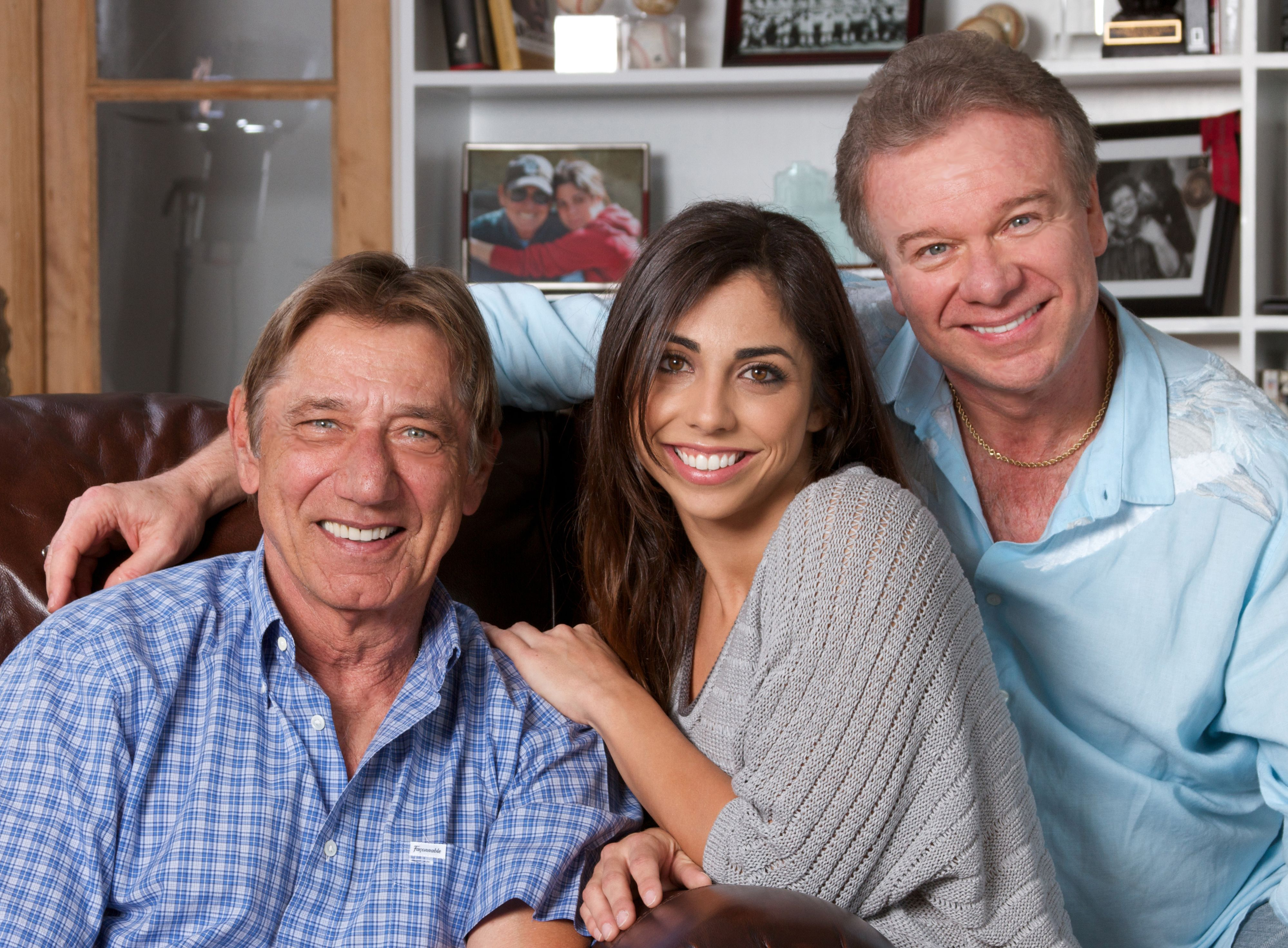 My all-time hero, Joe Namath, his daughter, Jessica, and me at his ...